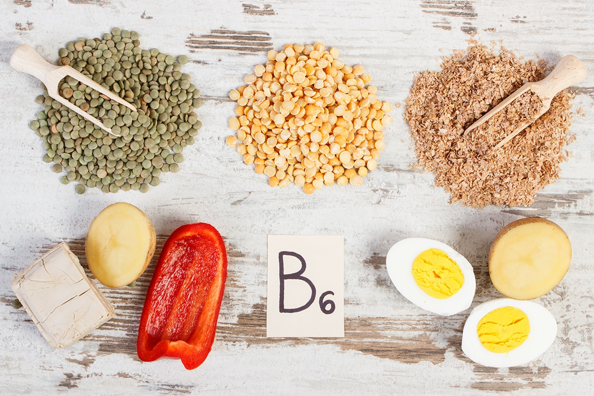 Foods high in Vitamin B6