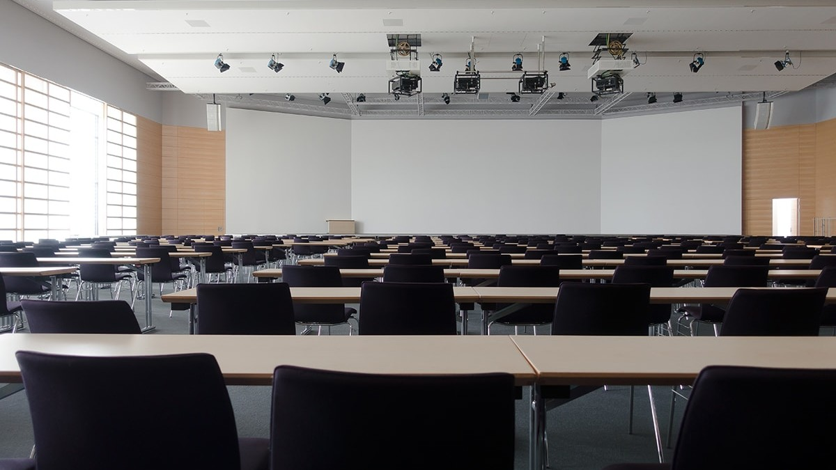School lecture room