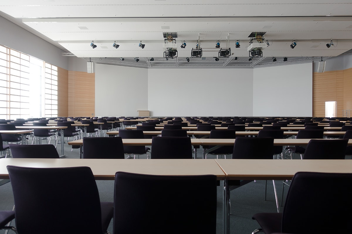 School lecture room