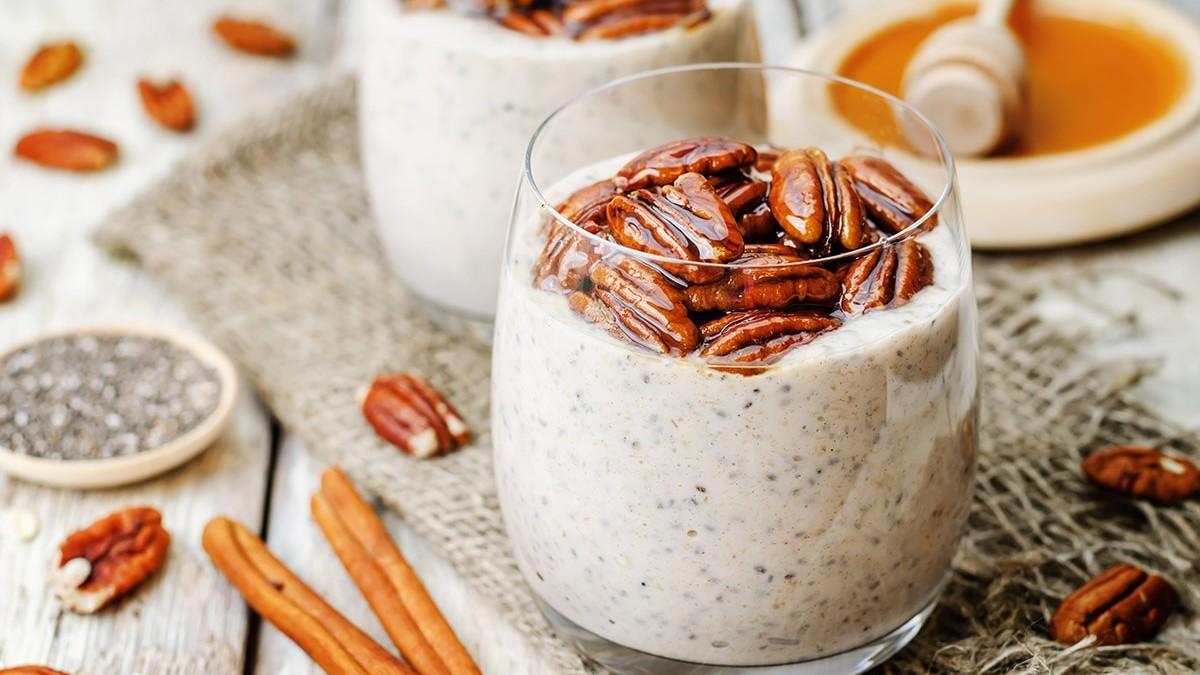 Cinnamon chia pudding