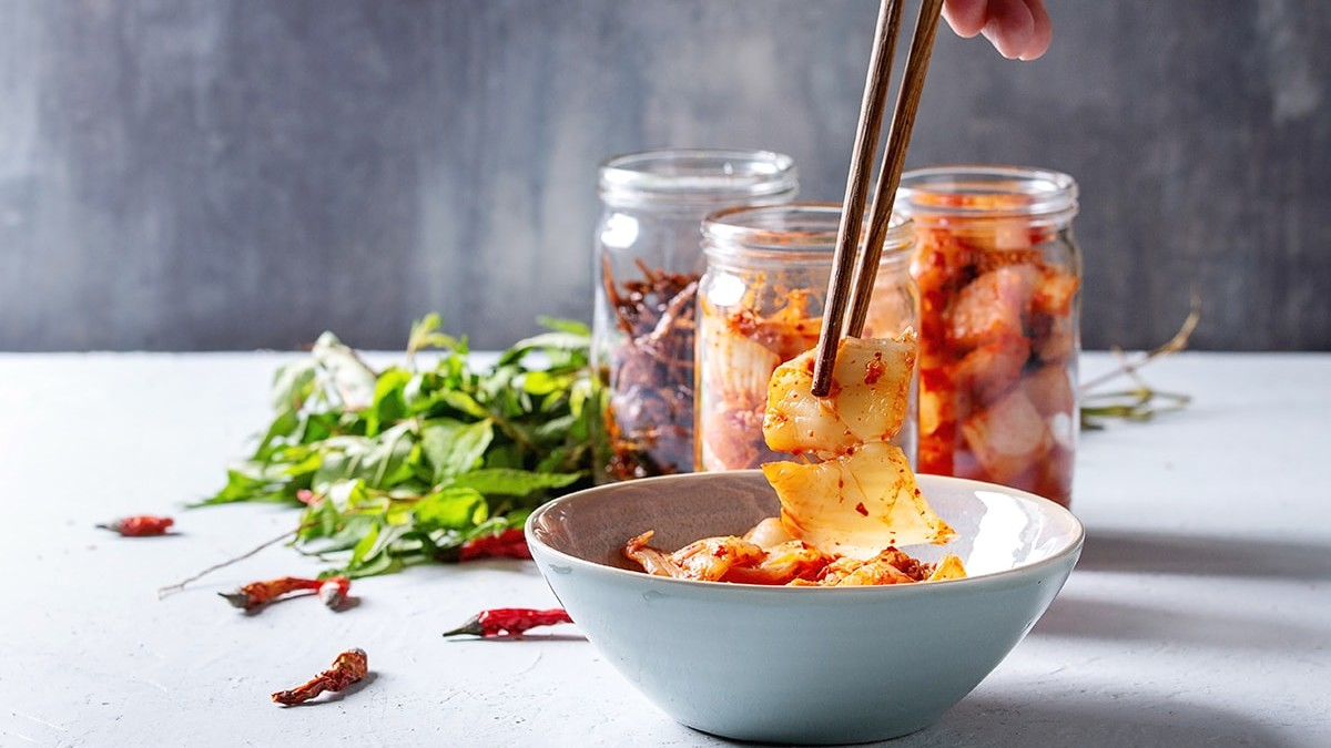 Kimchi and fermented foods