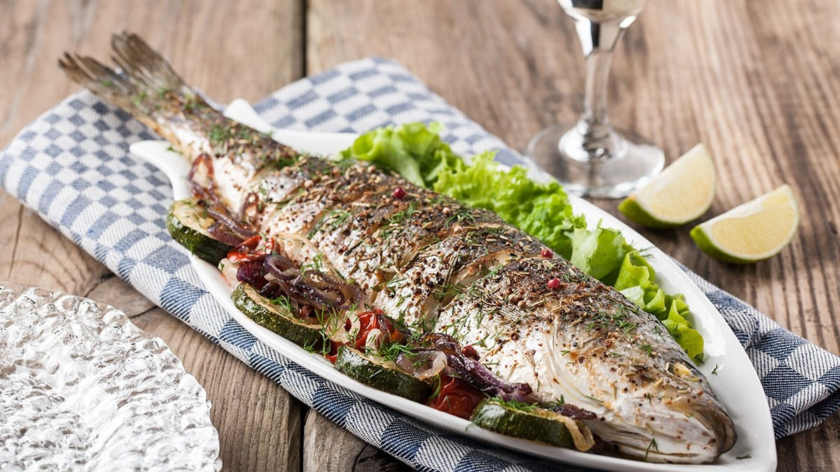 Baked Dorade (Sea Bream)