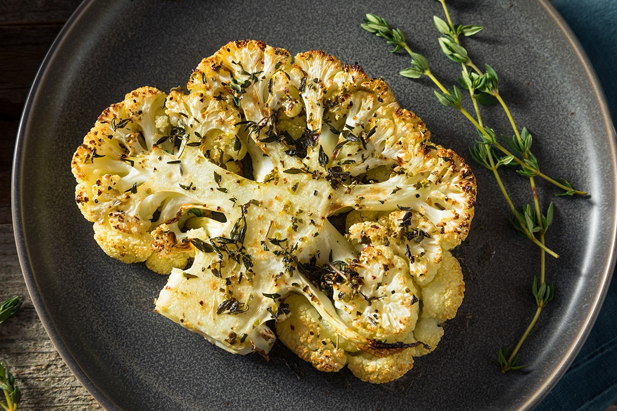 Roast Cauliflower Steak