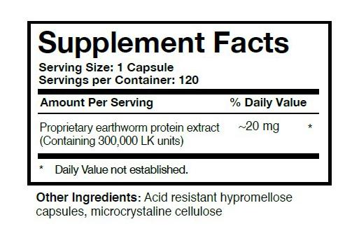 Boluoke Supplement Facts