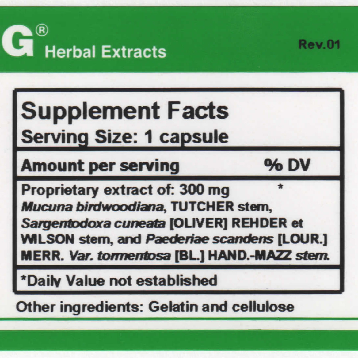 AI#3 supplement facts