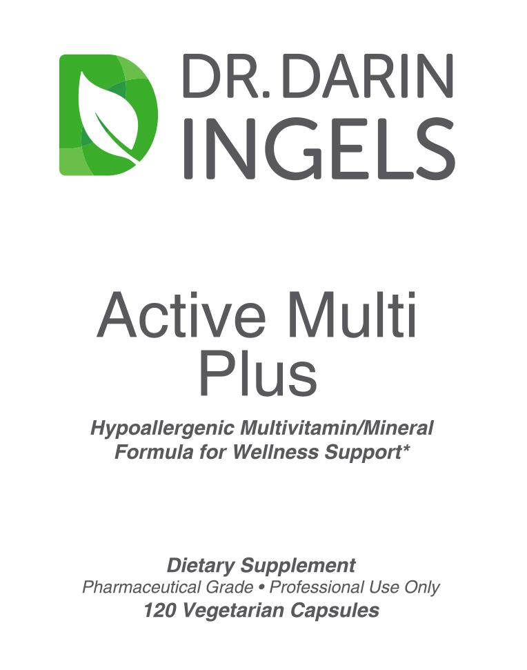 Active Multi Plus Front Label