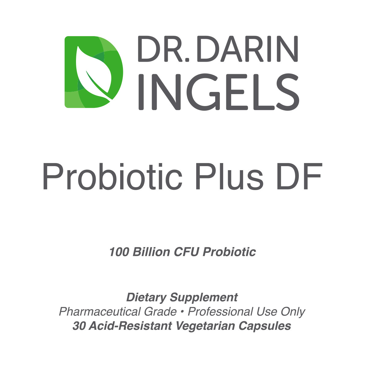 Probiotic Plus front label