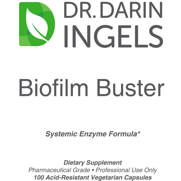 Biofilm Buster front label
