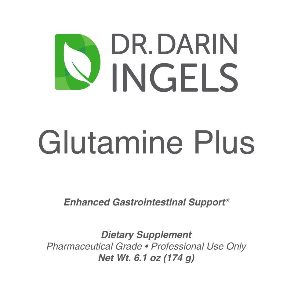 Glutamine Plus front label