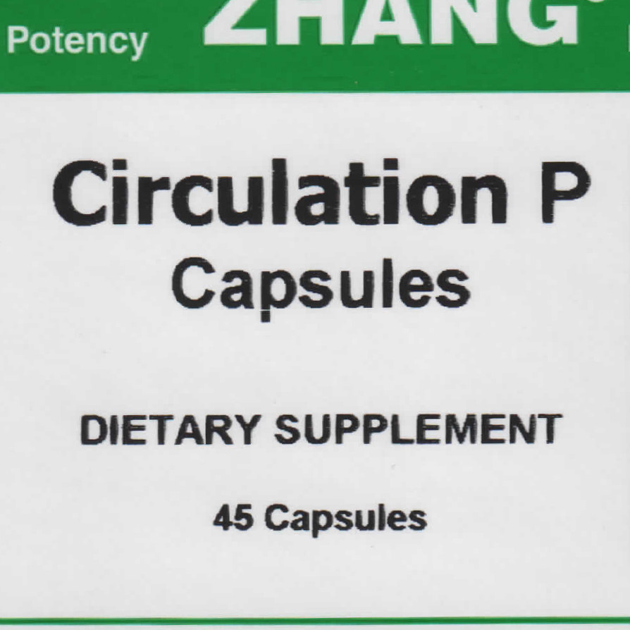 Circulation P front label