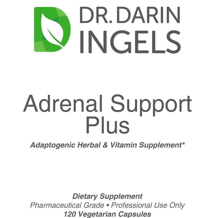 Adrenal Support Plus front label