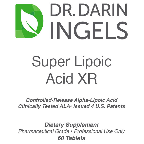Super Lipoic Acid XR label front