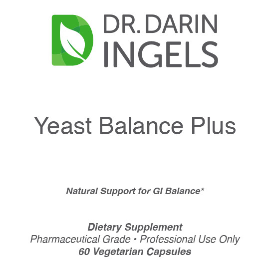 Yeast Balance Plus front label