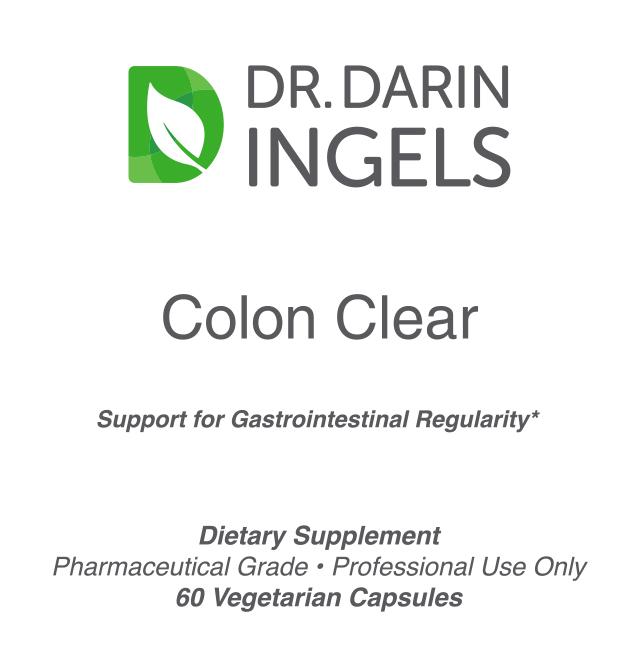 Colon Clear front label