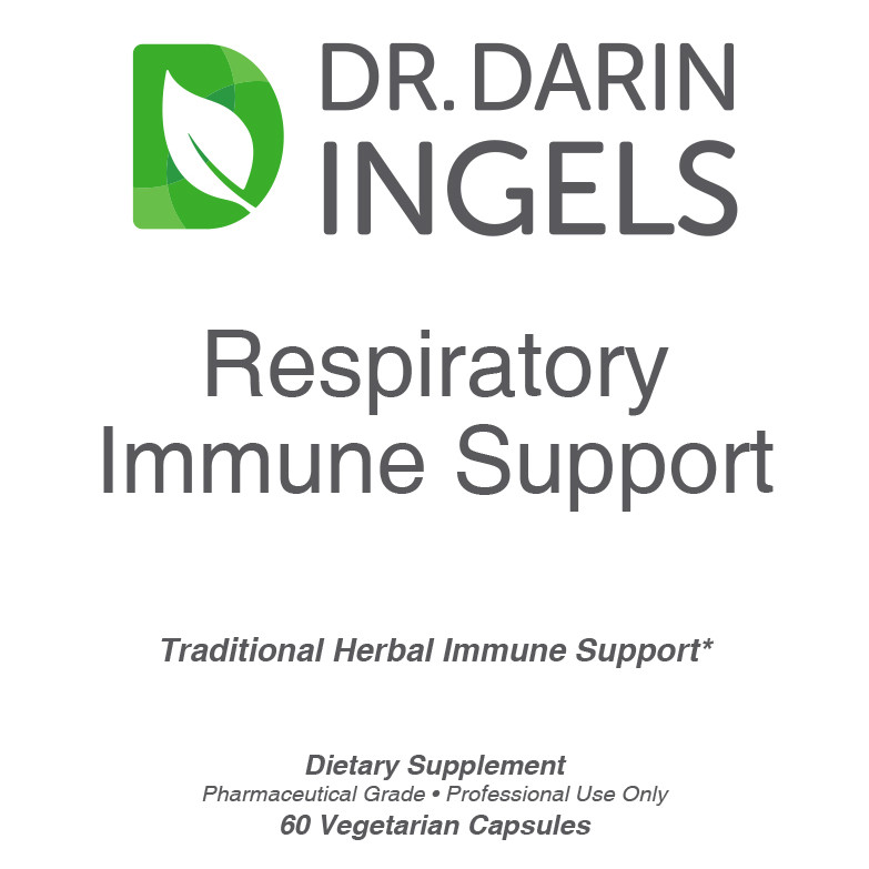 Respiratory Immune Support front label
