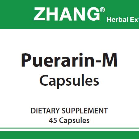 Puerarin-M Capsules label