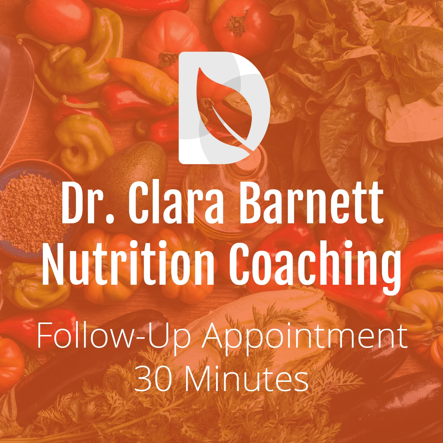 Nutrition Coaching: 30 Minute Follow-Up Appointment