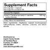 Acetyl-L-Carnitine supplement facts