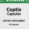 Coptis front label