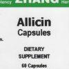 Allicin front label
