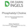Phosphatidyl Choline front label