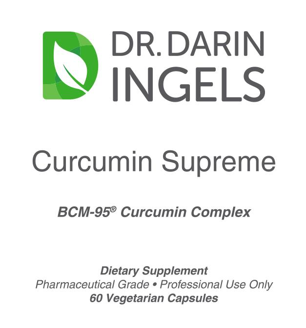 Curcumin Supreme front label