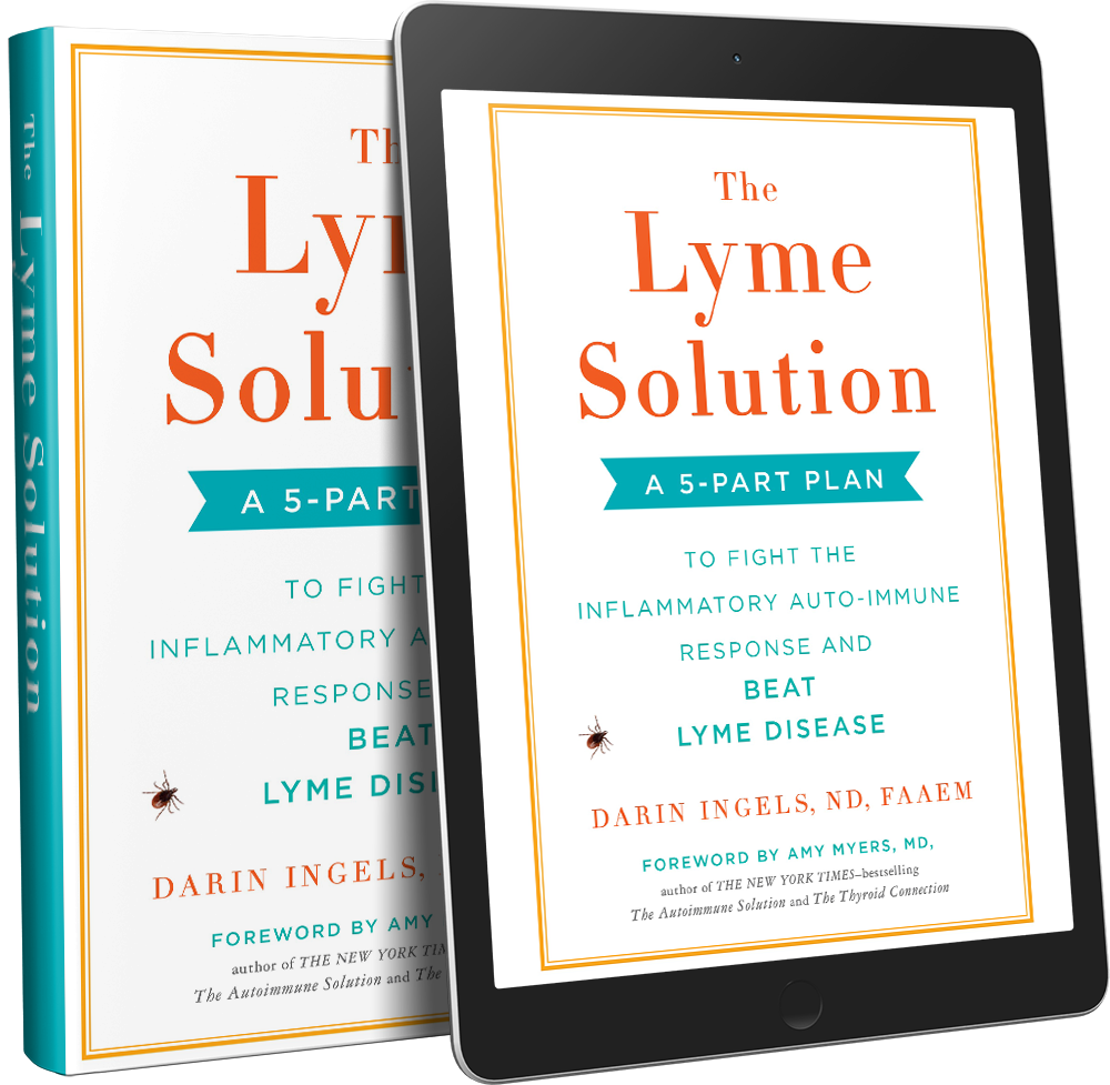 The Lyme Solution - Buy this Lyme Disease Book by Dr  Darin Ingels