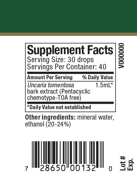 Samento Supplement Facts