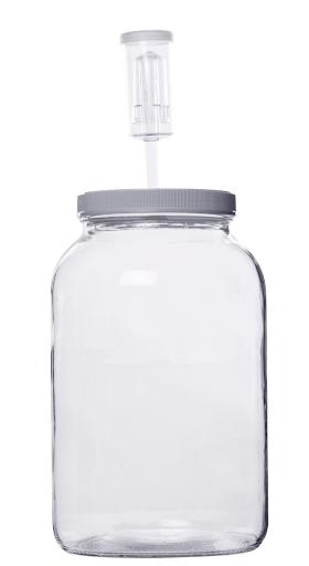 Glass Jar for Fermented Vegetables